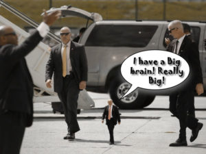 tiny-trump big brain